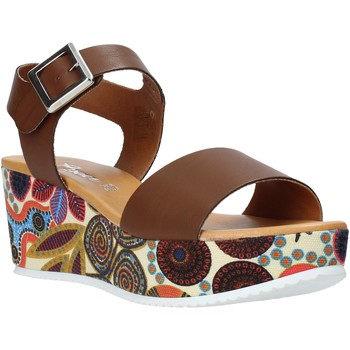 kengät Naiset Sandaalit ja avokkaat Grace Shoes 03 Ruskea