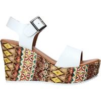 kengät Naiset Sandaalit ja avokkaat Grace Shoes 08 Valkoinen