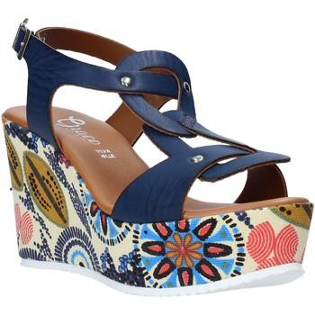 kengät Naiset Sandaalit ja avokkaat Grace Shoes 09 Sininen