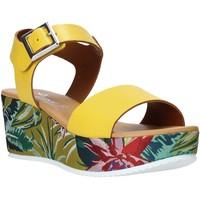 kengät Naiset Sandaalit ja avokkaat Grace Shoes 01 Keltainen