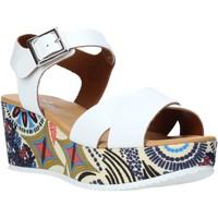kengät Naiset Sandaalit ja avokkaat Grace Shoes 12 Valkoinen