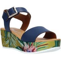 kengät Naiset Sandaalit ja avokkaat Grace Shoes 01 Sininen