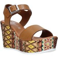 kengät Naiset Sandaalit ja avokkaat Grace Shoes 08 Ruskea