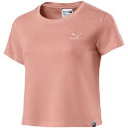 vaatteet Naiset Lyhythihainen t-paita Puma 575065 Vaaleanpunainen