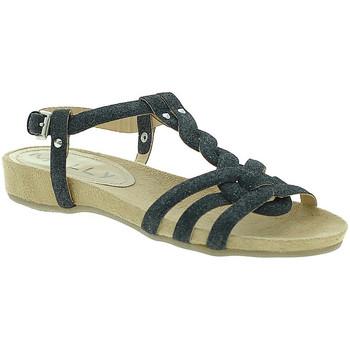 kengät Naiset Sandaalit ja avokkaat Mally 3828GL Musta