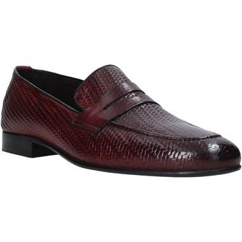 kengät Miehet Mokkasiinit Exton 1021 Violetti