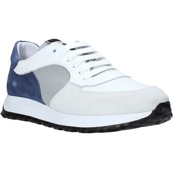 kengät Miehet Matalavartiset tennarit Exton 741 Valkoinen