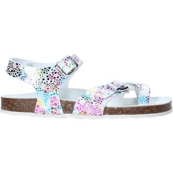 kengät Tytöt Sandaalit ja avokkaat Grunland SB1503 Valkoinen