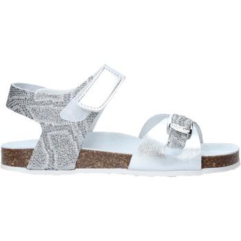 kengät Tytöt Sandaalit ja avokkaat Grunland SB1501 Hopea