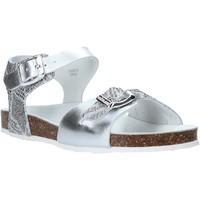 kengät Lapset Sandaalit ja avokkaat Grunland SB1500 Hopea