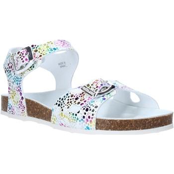 kengät Tytöt Sandaalit ja avokkaat Grunland SB1502 Valkoinen