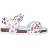 kengät Tytöt Sandaalit ja avokkaat Grunland SB1535 Valkoinen