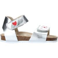 kengät Tytöt Sandaalit ja avokkaat Grunland SB1546 Hopea