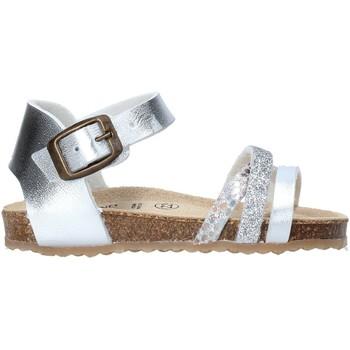 kengät Tytöt Sandaalit ja avokkaat Grunland SB1544 Hopea