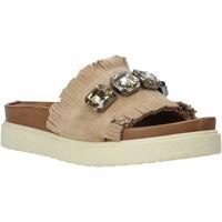 kengät Naiset Sandaalit Bueno Shoes CM2217 Beige