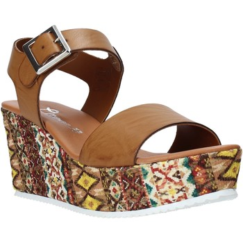 kengät Naiset Sandaalit ja avokkaat Grace Shoes 06 Ruskea