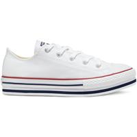 kengät Lapset Matalavartiset tennarit Converse 668028C Valkoinen