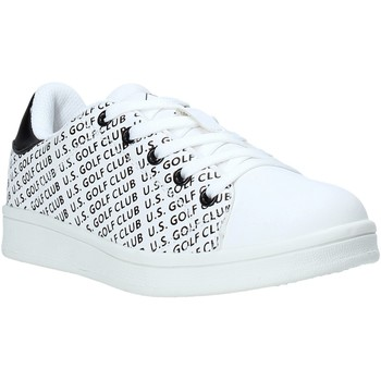 kengät Lapset Matalavartiset tennarit U.s. Golf S20-SUK621 Valkoinen