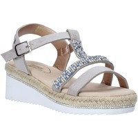 kengät Tytöt Sandaalit ja avokkaat Miss Sixty S20-SMS785 Hopea