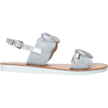 kengät Tytöt Sandaalit ja avokkaat Miss Sixty S20-SMS786 Hopea