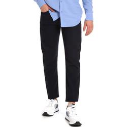 vaatteet Miehet Chino-housut / Porkkanahousut Les Copains 9U3021 Sininen