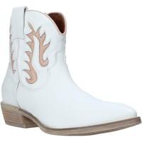 kengät Naiset Nilkkurit Mally 6629S Valkoinen
