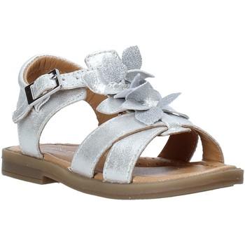 kengät Tytöt Sandaalit ja avokkaat Grunland PS0062 Hopea
