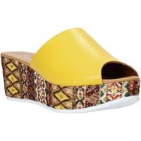 kengät Naiset Sandaalit Grace Shoes 10 Keltainen
