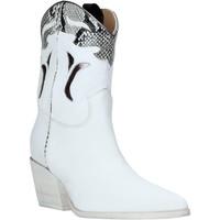 kengät Naiset Nilkkurit Mally 6918P Valkoinen