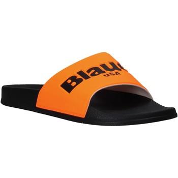 kengät Miehet Rantasandaalit Blauer S0BAY02/FLU Oranssi