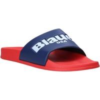 kengät Miehet Rantasandaalit Blauer S0BAY02/PUC Punainen