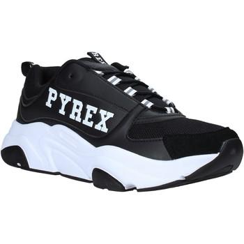 kengät Miehet Matalavartiset tennarit Pyrex PY020206 Musta