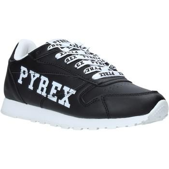 kengät Naiset Matalavartiset tennarit Pyrex PY020235 Musta
