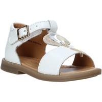 kengät Tytöt Sandaalit ja avokkaat Grunland PS0063 Valkoinen