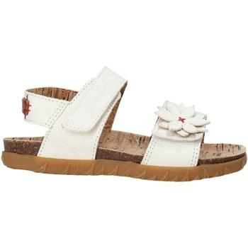 kengät Tytöt Sandaalit ja avokkaat Grunland SB1564 Valkoinen