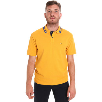 vaatteet Miehet Lyhythihainen poolopaita Les Copains 9U9021 Keltainen