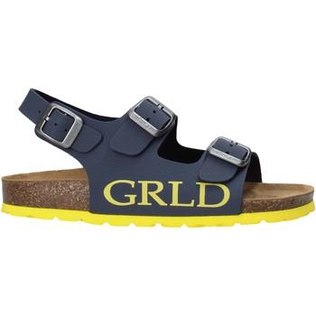 kengät Lapset Sandaalit ja avokkaat Grunland SB1516 Sininen