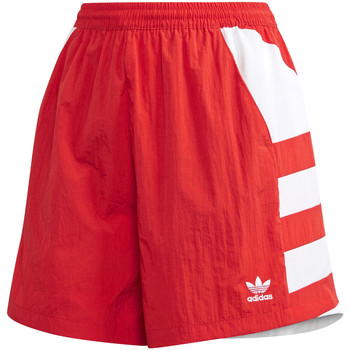 vaatteet Naiset Shortsit / Bermuda-shortsit adidas Originals FM2637 Punainen