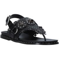 kengät Naiset Sandaalit ja avokkaat Mally 6562 Musta