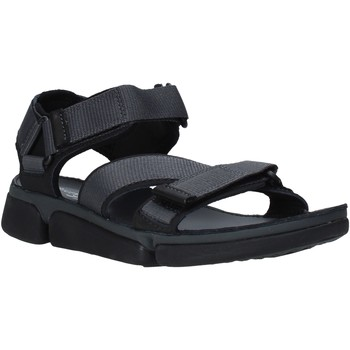kengät Miehet Sandaalit ja avokkaat Clarks 26139566 Musta