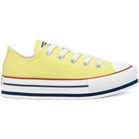 kengät Lapset Matalavartiset tennarit Converse 668283C Keltainen