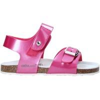kengät Lapset Sandaalit ja avokkaat Grunland SB0375 Vaaleanpunainen