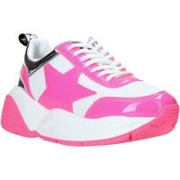 kengät Naiset Matalavartiset tennarit Shop Art SA020044 Vaaleanpunainen