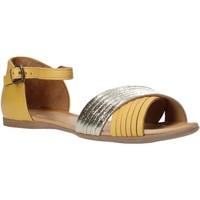 kengät Naiset Sandaalit ja avokkaat Bueno Shoes N0734 Keltainen