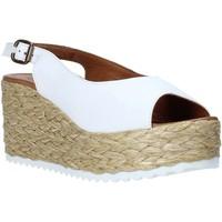 kengät Naiset Sandaalit ja avokkaat Bueno Shoes N3603 Valkoinen