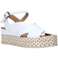 kengät Naiset Sandaalit ja avokkaat Bueno Shoes Q5901 Valkoinen