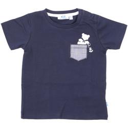 vaatteet Lapset Lyhythihainen t-paita Melby 20E5070 Sininen