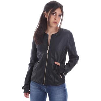 vaatteet Naiset Nahkatakit / Tekonahkatakit Gaudi 011BD38001 Musta