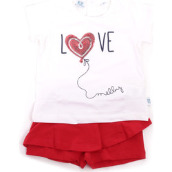 vaatteet Tytöt Kokonaisuus Melby 20L7001 Punainen