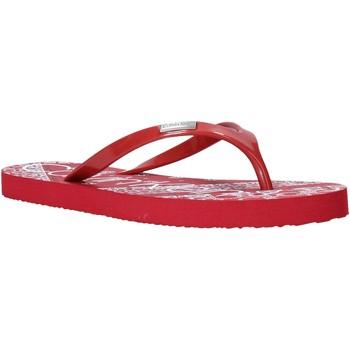 kengät Naiset Varvassandaalit Calvin Klein Jeans E8853 Punainen